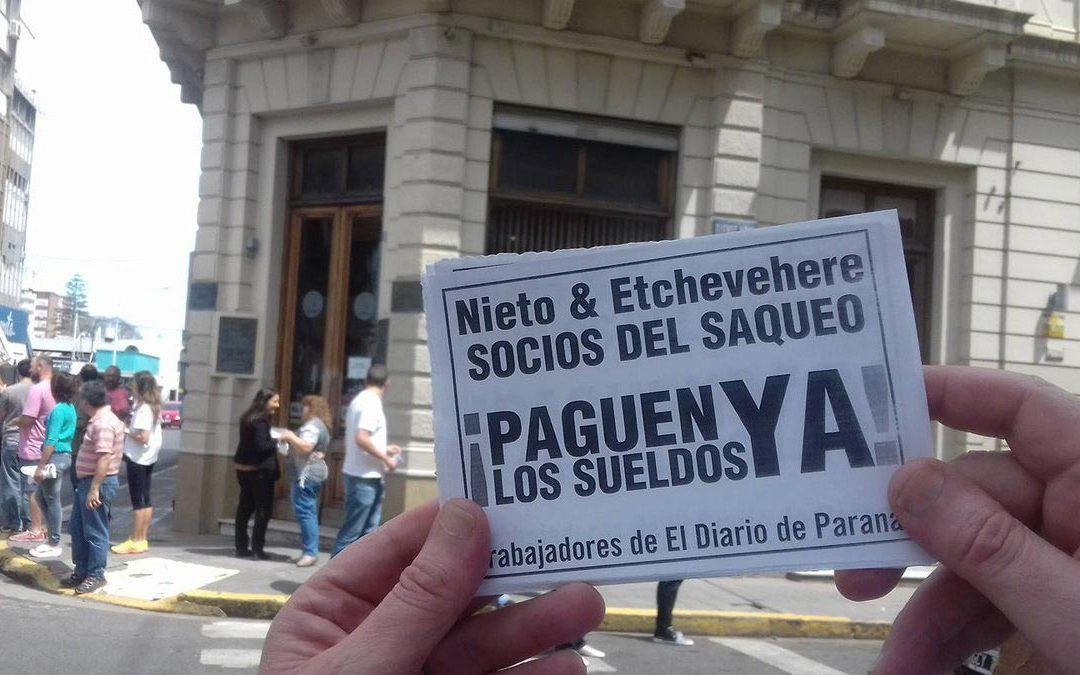 Los Etchevehere corruptos a indagatoria por vaciamiento de El Diario de Paraná